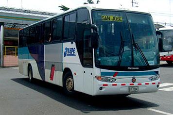Public Bus to Cahuita